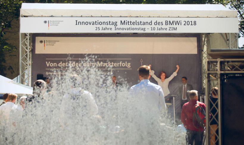 Innovationstag Mittelstand des BMWi 2018